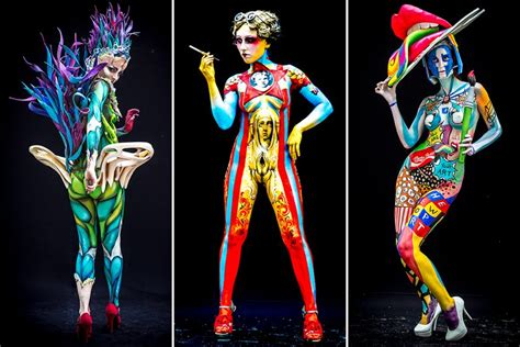 eumundi painting festival 2016 conozcan el trabajo de paint de la convenci 243 n bodies
