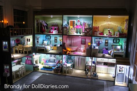 light up house light up your dollhouse doll diaries