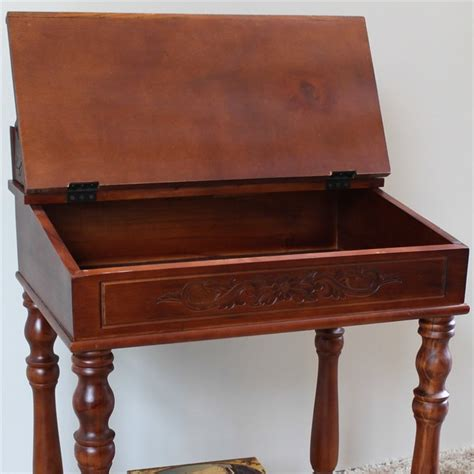 small writing desks small writing desk in dual walnut stain 3836