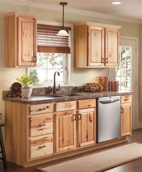 cabinet designs for kitchen best 25 hickory kitchen cabinets ideas on