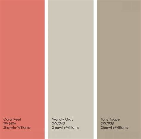 coral bedroom color schemes best 25 taupe color schemes ideas on taupe
