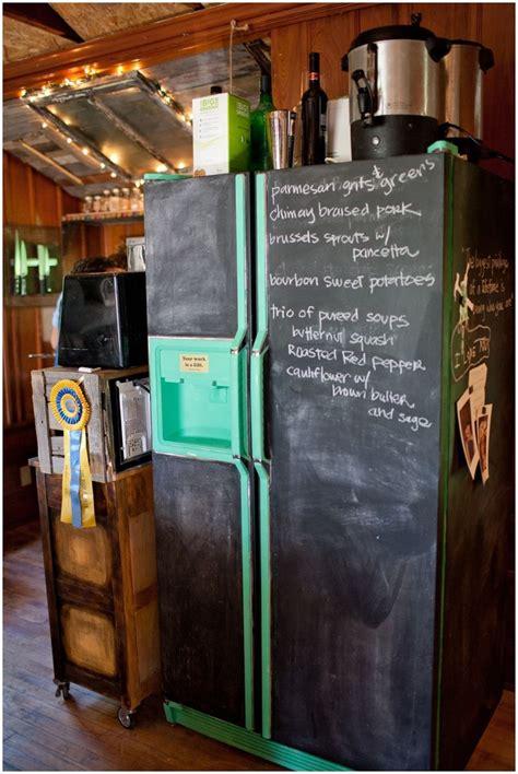 chalkboard painting a fridge 25 best ideas about chalkboard paint refrigerator on