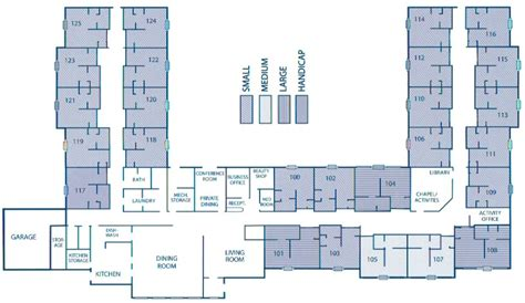 floor plans for assisted living facilities countryside villa assisted living facility wausa nebraska