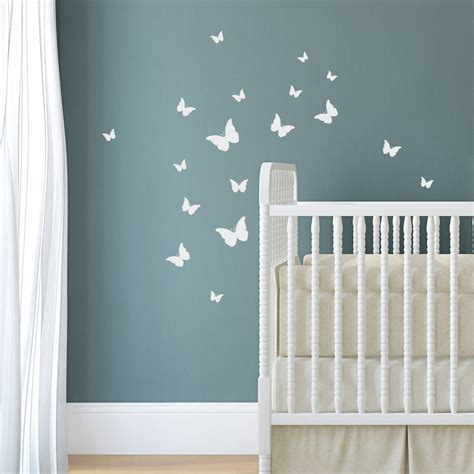 decorative stickers for wall pack of decorative wall stickers by nutmeg