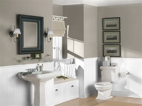 Neutral Bathroom Color Schemes by Best Color Combinations For Bathrooms Studio Design