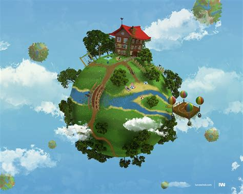myhome 3d my 3d planet my home wallpaper 37335
