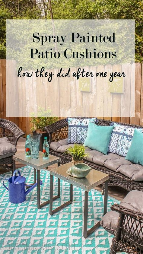 spray painting outdoor cushions 1000 ideas about patio furniture cushions on