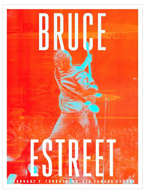 poster for bruce springsteen the river tour posters michelleholme