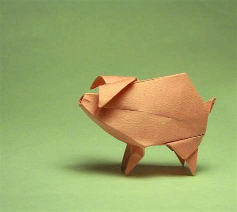 origami pigs origami paper pig origami