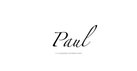paul prophet name tattoo designs tattoos with names