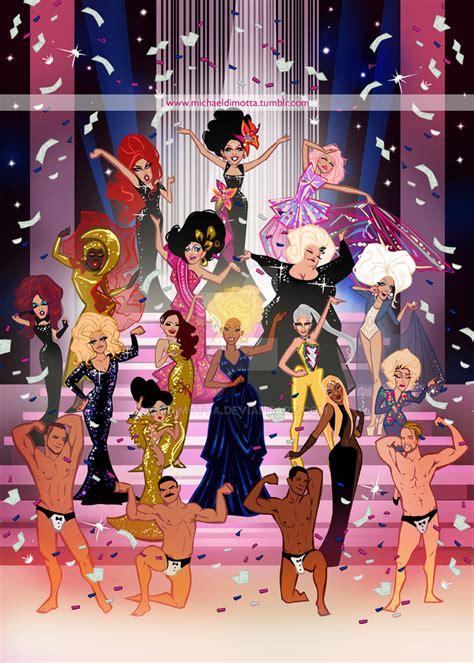 rupaul painting show rupaul s drag race finale season 6 by mdimotta on deviantart