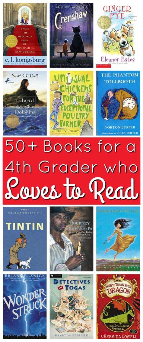 4th grade picture books 50 books for a 4th grader who to read book list