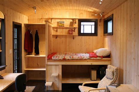 Storage Ideas For Tiny Bathrooms tony s caravan tiny house swoon