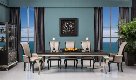 swank dining set swank dining set shabby chic style dining room miami by el dorado furniture