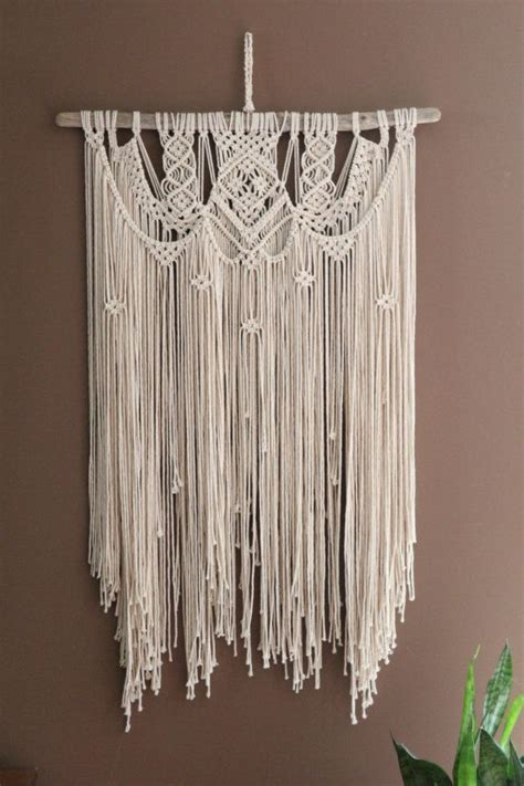 unique wall patterns best 25 macrame wall hangings ideas on