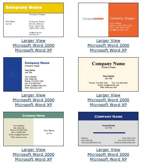 make business cards microsoft word business card template for microsoft word free business