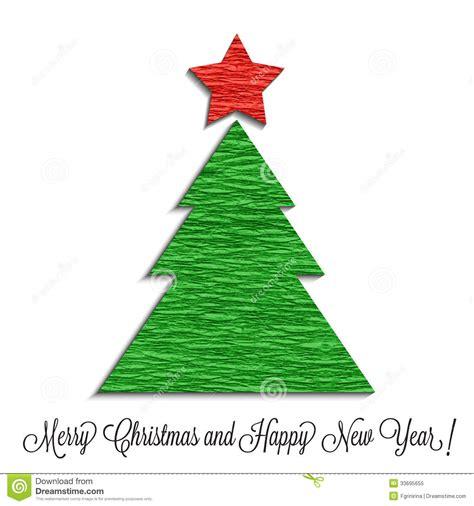 stilisierter weihnachtsbaum stilisierter weihnachtsbaum gemacht vom krepppapier