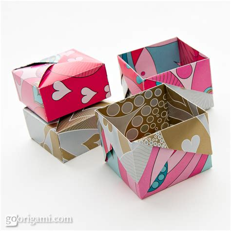 origami gift boxes origami boxes and dishes gallery go origami