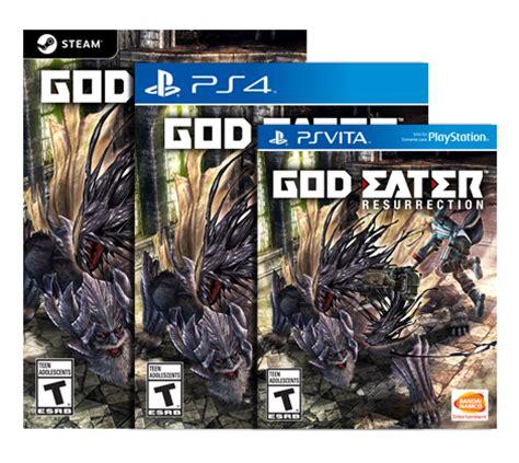 god eater order god eater resurrection ot quot you three orders