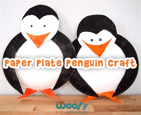 penguin paper plate craft preschool craft winter crafts penguin craft