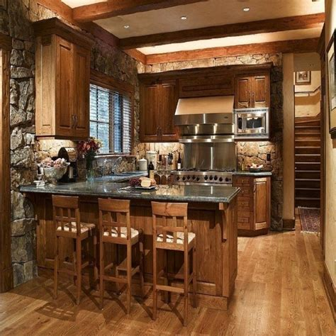 rustic kitchen design ideas best 25 small rustic house ideas on
