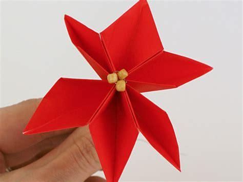 origami poinsettia planetjune by june gilbank 187 origami poinsettia