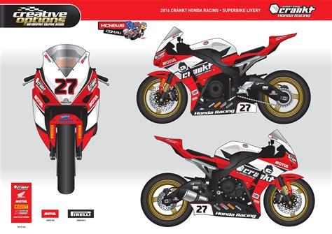 Team Honda by Crankt Protein Honda Racing Partners Mcnews Au