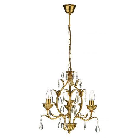 gold chandelier light small charleston 3 light antique gold chandelier on a chain
