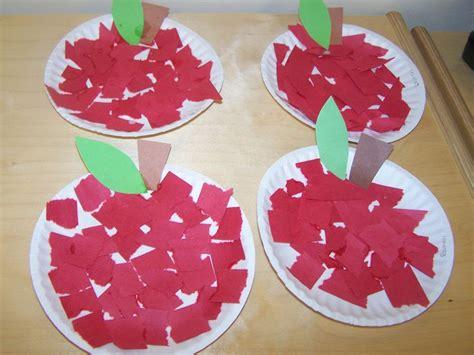 apple craft for apple craft preschool education ideas
