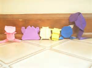 how to make origami mew my origami team paper crafts scrapbooking