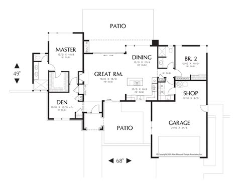 open one story house plans one story open floor plans rugdots