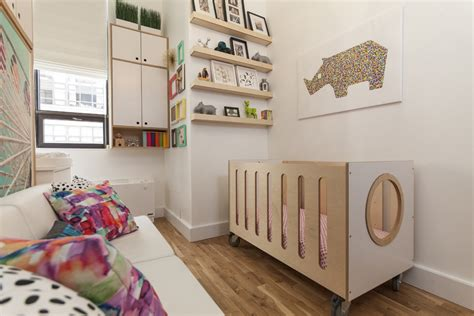 Small Space Kids Bedroom by A Nursery Guest Room Casa Kids