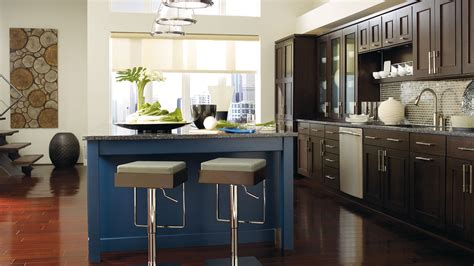 blue kitchen islands wood cabinets with a blue kitchen island omega