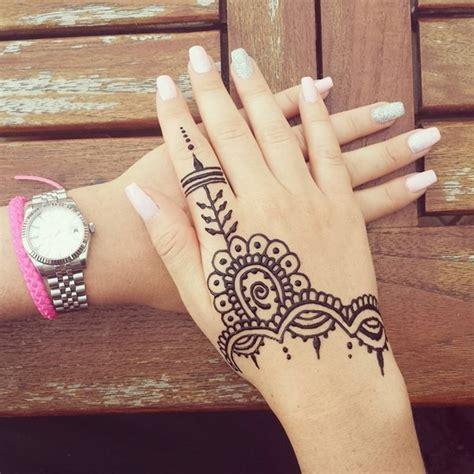 125 tatuajes de henna con hermosos dise 241 os
