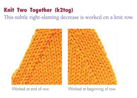 how to increase and decrease in knitting decrease knitting