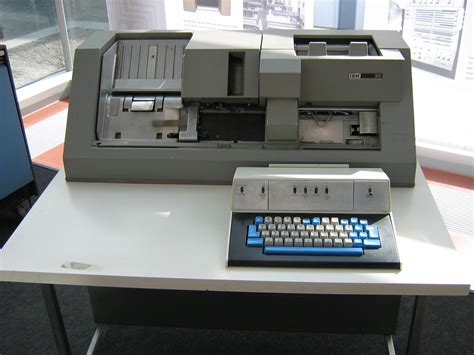 card punches computer history on ibm computers and steve