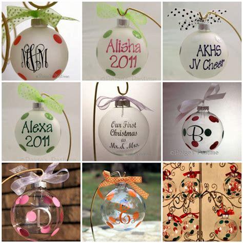 monogrammed ornament monogrammed ornament
