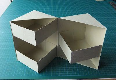 origami storage box secret box tutorial 4 1 2 quot high all things