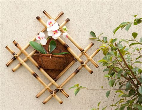 bamboo crafts for diy bamboo wall decor ideas 2 craft projects with bamboo