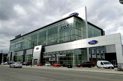 Fox Ford Chicago by 57 Million Ford Dealer Ready To Roll Along Bucktown