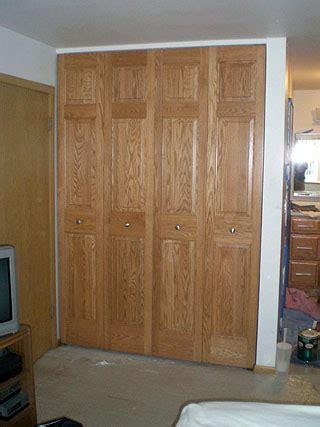 custom bifold closet door custom bifold closet doors amish custom furniture
