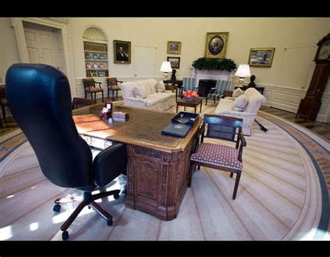 inside the oval office the office of the president situated inside the