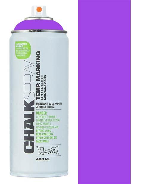chalk paint en spray montana black chalk spray violet spray paint from
