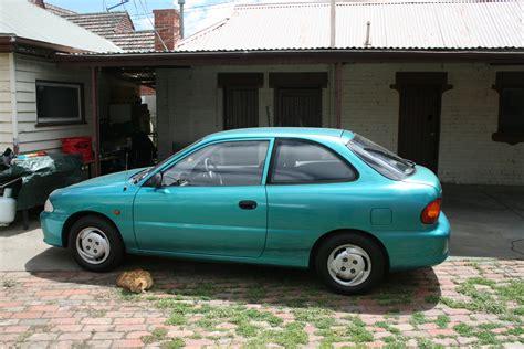 Hyundai Accent 1995 1995 hyundai accent i hatchback pictures information