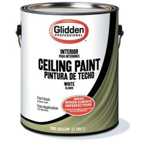home depot paint reviews glidden professional 1 gal flat ceiling paint gpl 0000 01