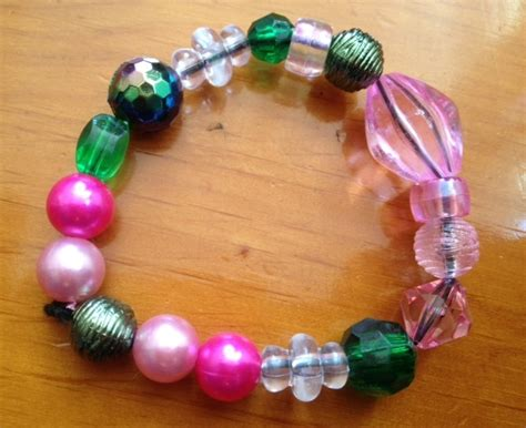 how to make jewelry bracelets simple bead bracelets my kid craft