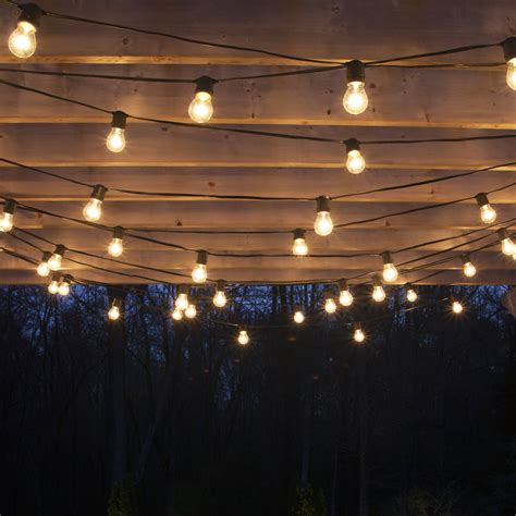 white hanging lights how to hang patio lights