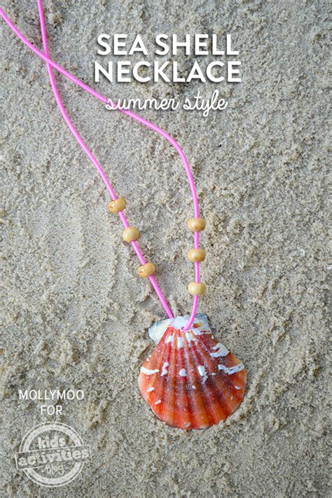 how to make jewelry from seashells how to make your own seashell necklace