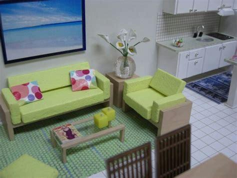juegos de cocina en la playa maqueta sala y cocina del apartamento de playa en los