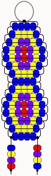 pony bead crafts for 1000 images about pony bead pattern crafts on